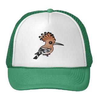 Birdorable Hoopoe Mesh Hats