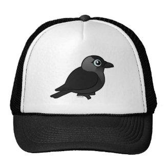 Birdorable Jackdaw Mesh Hat