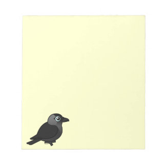 Birdorable Jackdaw Notepad