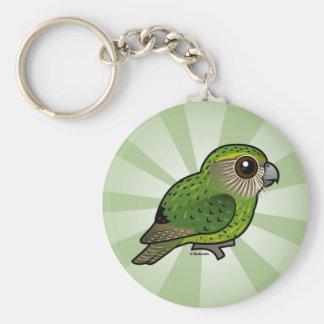 Birdorable Kakapo Basic Round Button Key Ring