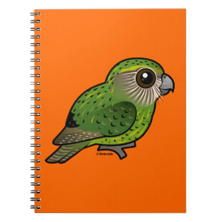 Birdorable Kakapo Note Book