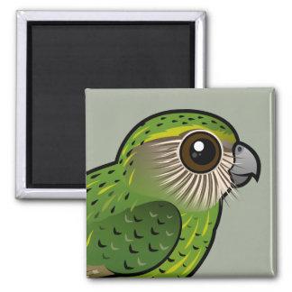 Birdorable Kakapo Square Magnet