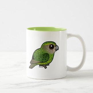 Birdorable Kakapo Two-Tone Coffee Mug