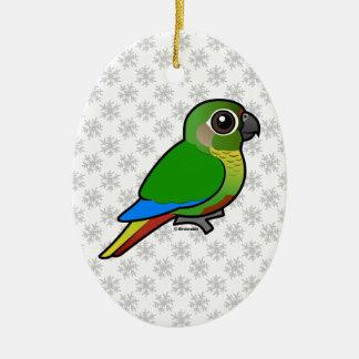 Birdorable Maroon-bellied Parakeet Christmas Ornament