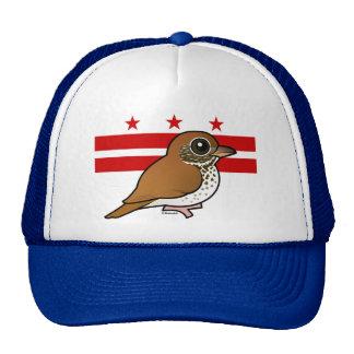 Birdorable of Washington D C Wood Thrush Hats