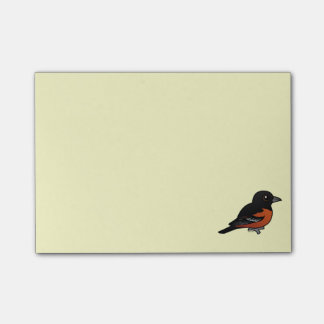 Birdorable Orchard Oriole Post-it® Notes
