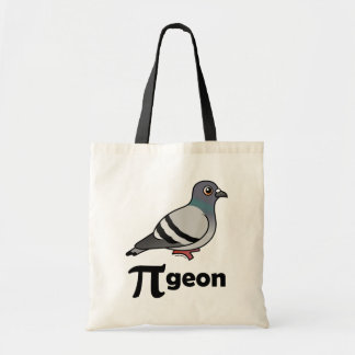 Birdorable PI-geon / Pigeon Pi Tote Bag