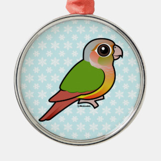 Birdorable Pineapple Green-cheeked Conure Christmas Ornament