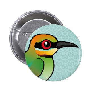 Birdorable Rainbow Bee-eater 6 Cm Round Badge