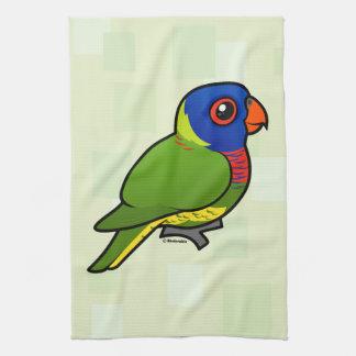 Birdorable Rainbow Lorikeet Tea Towel