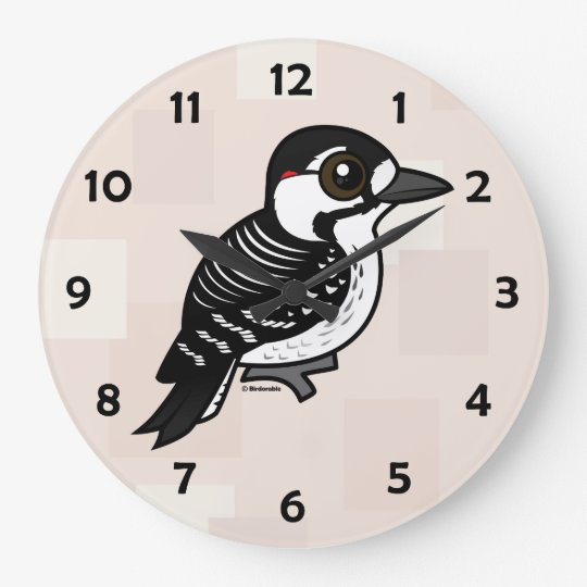 Birdorable Red-cockaded Woodpecker Wall Clocks