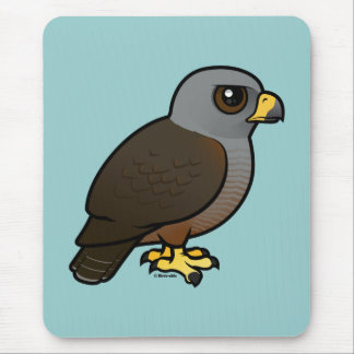 Birdorable Ridgway s Hawk Mousepad