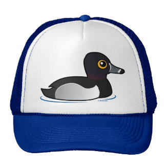 Birdorable Ring-necked Duck Trucker Hats