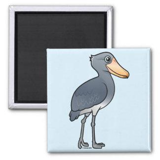 Birdorable Shoebill Square Magnet