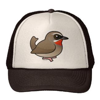 Birdorable Siberian Rubythroat Mesh Hats