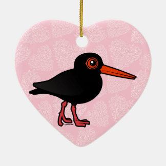 Birdorable Sooty Oystercatcher Christmas Ornaments
