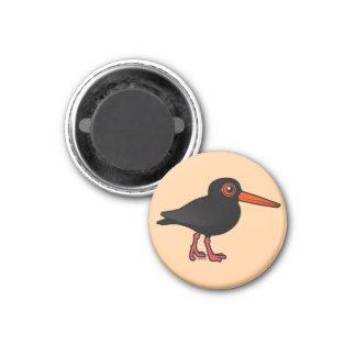 Birdorable Sooty Oystercatcher Fridge Magnet