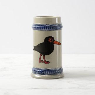 Birdorable Sooty Oystercatcher Coffee Mugs