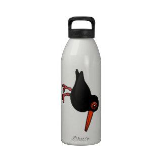 Birdorable Sooty Oystercatcher Reusable Water Bottles