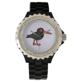 Birdorable Sooty Oystercatcher Wristwatch