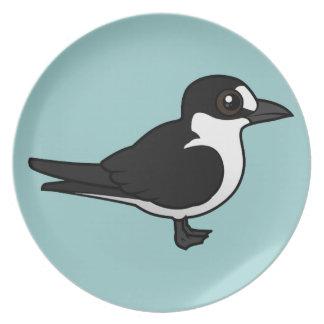 Birdorable Sooty Tern Plates