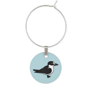 Birdorable Sooty Tern Wine Charms