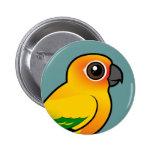 Birdorable Sun Parakeet Buttons
