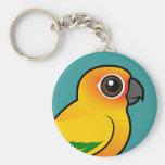 Birdorable Sun Parakeet Key Chain