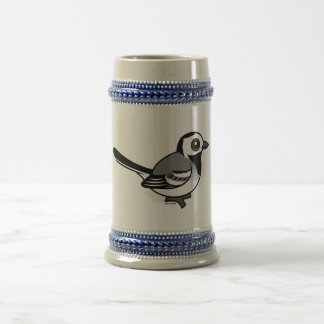Birdorable White Wagtail Beer Stein