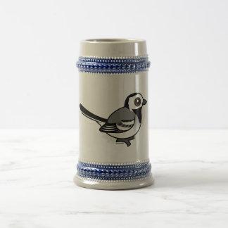 Birdorable White Wagtail Beer Steins