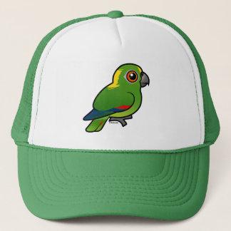 Birdorable Yellow-naped Parrot Trucker Hat