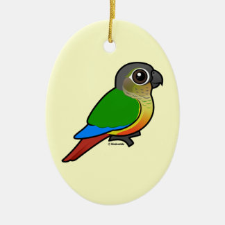 Birdorable Yellow-sided Conure Christmas Ornament