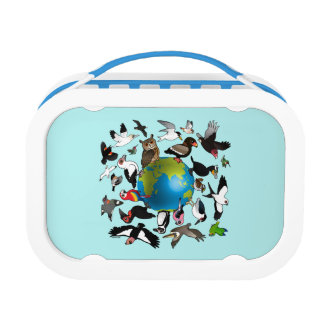 Birdorables Around the World Lunch Box