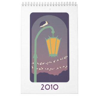 Birds 2010 wall calendar