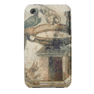 Birds and an ambushing cat, from Pompeii, 1st cent iPhone 3 Case-Mate Cases