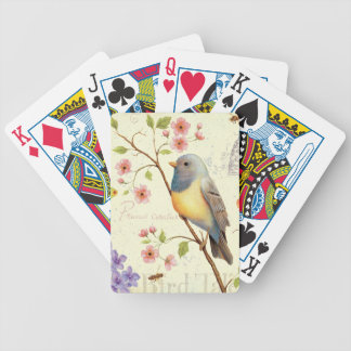 Birds and Bees Bicycle Playing Cards
