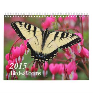 Birds and Blooms 2015 Calendar
