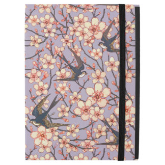 Birds and blossoms iPad Pro case