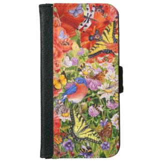 Birds and Butterflies iPhone 6/6S Wallet Case