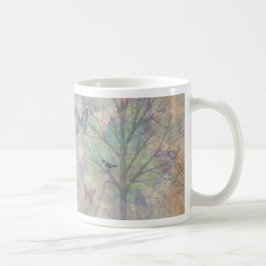 Birds and Butterflies - Mug