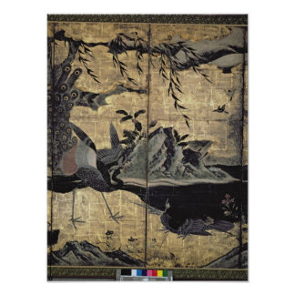 Birds and Flowers of the Four Seasons Poster