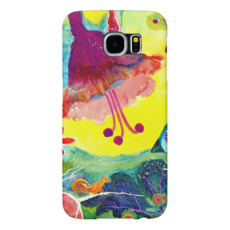 Birds and Flowers. Samsung Galaxy S6 Cases