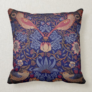 Birds and Flowers Tapestry Cushion