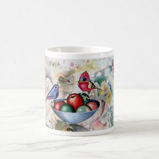 BIRDS and FRUITS. Moltchanoph Inc. Basic White Mug
