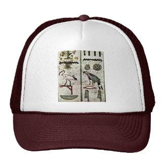 Birds And Hieroglyphs By Maler Der Grabkammer Des Mesh Hat