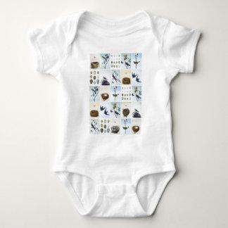 Birds and Nests Baby Bodysuit