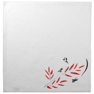 Birds & Branches Printed Napkins