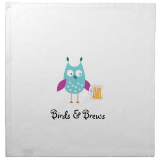 Birds & Brews napkins