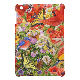 Birds, Butterflies and Bees iPad Mini Case