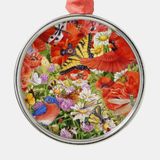 Birds, Butterflies and Bees Ornament
